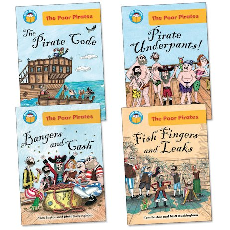Start Reading: The Poor Pirates Pack (Book Band Gold)