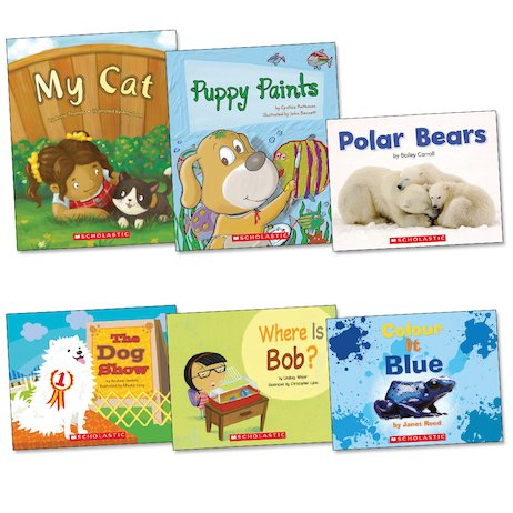 Guided Readers Library Pack: Book Band Pink B x 6