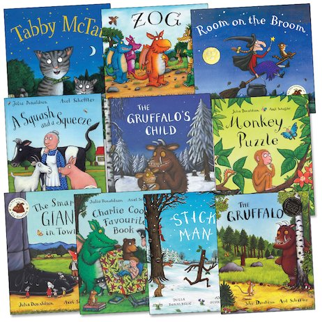 Julia Donaldson and Axel Scheffler Pack