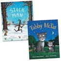 Julia Donaldson and Axel Scheffler Twin Pack