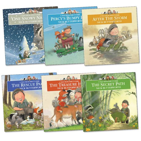 Percy the Park Keeper Pack x 6