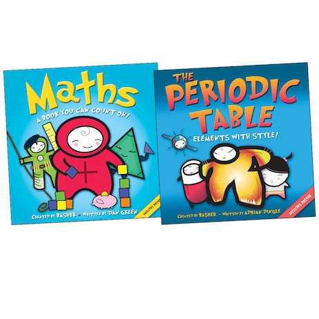 Basher: Maths and Periodic Table Pair