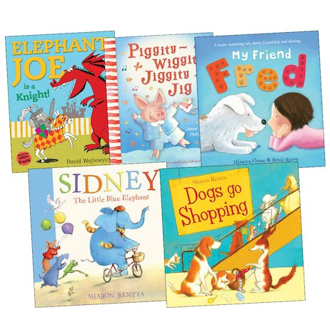 Animal Picture Book Pack x 5