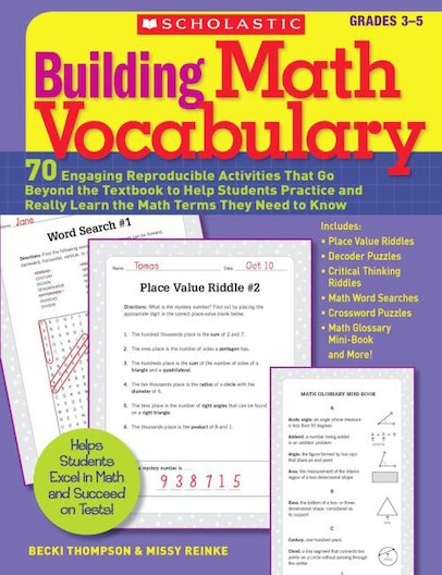 Building Math Vocabulary