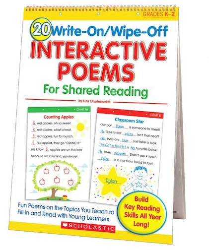 20 Write-On/Wipe-Off Interactive Poems for Shared Reading
