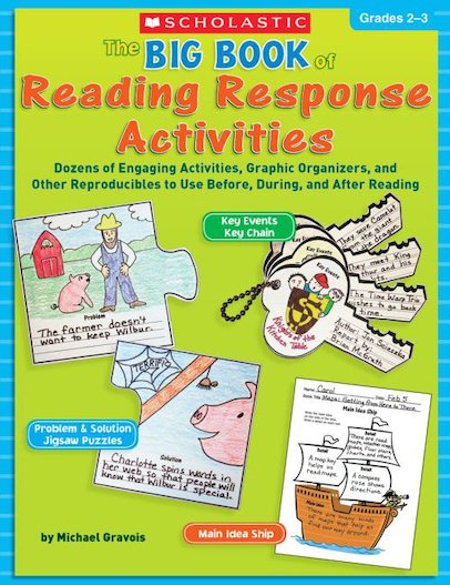 Big Book Of Reading Response Activities: Grades 2-3