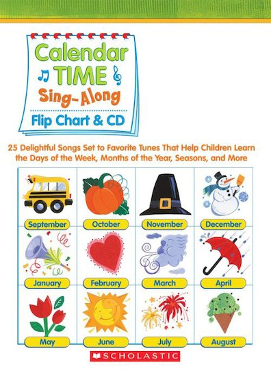 Calendar Time Sing-Along Flip Chart and CD