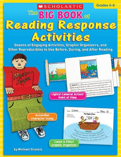 Big Book Of Reading Response Activities: Grades 4-6
