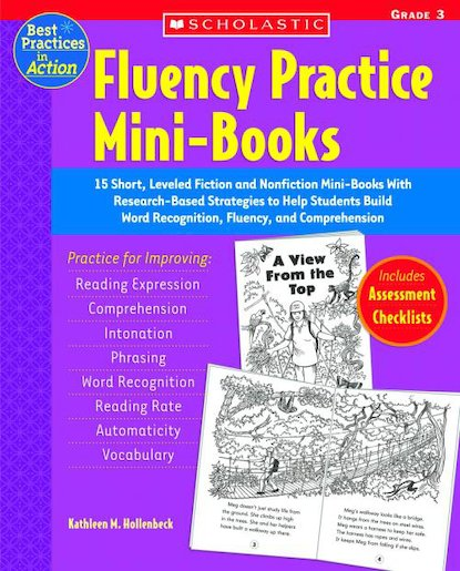 Best Practices In Action: Fluency Practice Mini-Books: Grade 3