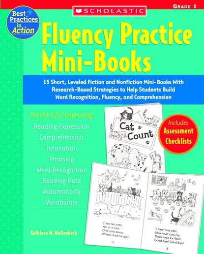 Best Practices For Fluency Mini books Grade 1