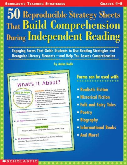 50 Repro Strategy Sheets That Build Comprehension During Independent Reading