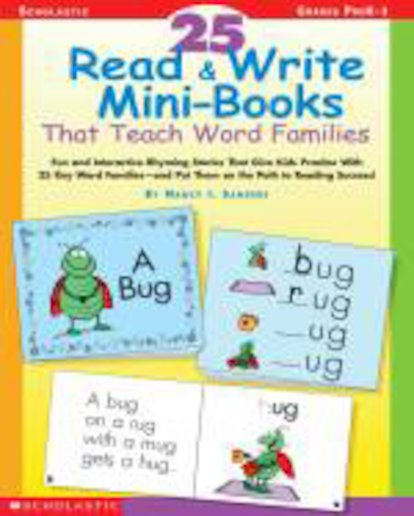 25 Read and Write Mini-Books That Teach Word Families