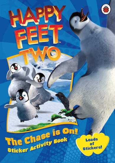 Happy Feet 2: The Chase is On! Sticker Activity Book