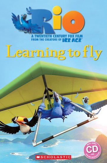 Rio: Learning to Fly (Book and CD)