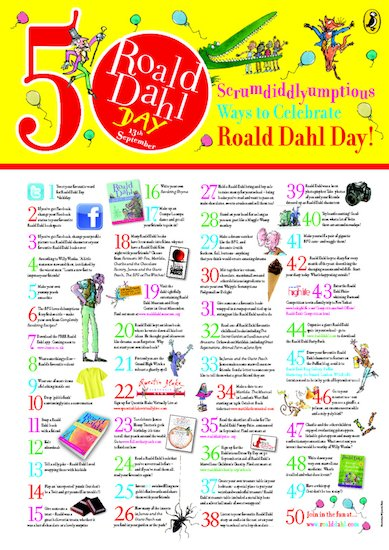 Dahl Day Poster