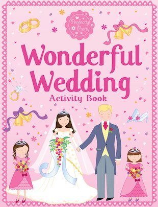 Wonderful Wedding Activity Book