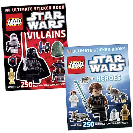 LEGO Star Wars: Heroes and Villains Sticker Pair
