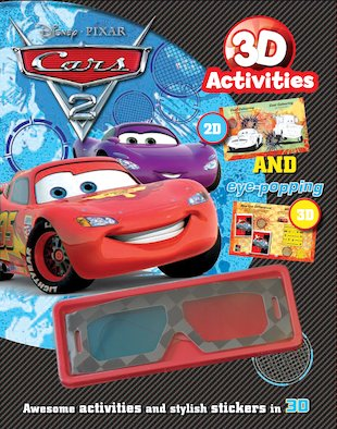 Cars 2: 3D Activity and Sticker Book