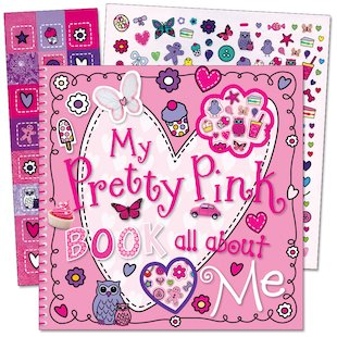 My Pretty Pink Book All About Me