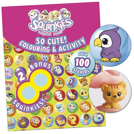Squinkies: So Cute! Colouring and Activity