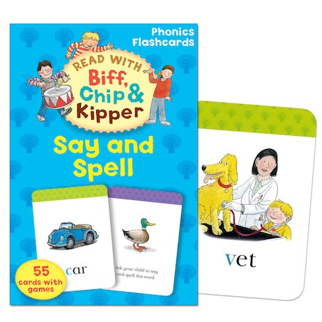 Read with Biff, Chip and Kipper: Say and Spell