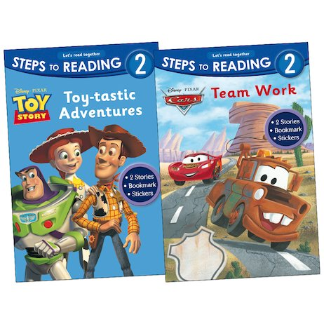 Steps to Reading: Pixar Pack