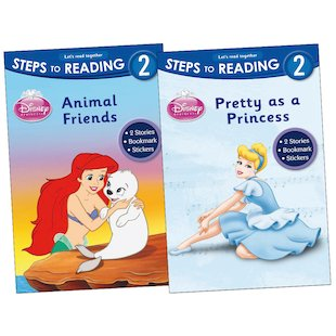 Steps to Reading: Princess Pack