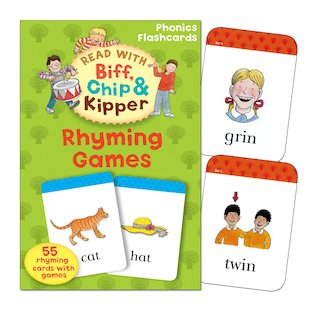 Read With Biff, Chip and Kipper: Rhyming Games