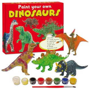 Paint Your Own Dinosaurs