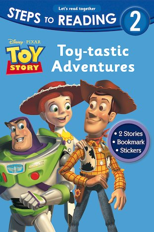 Steps to Reading: Toy-tastic Adventures