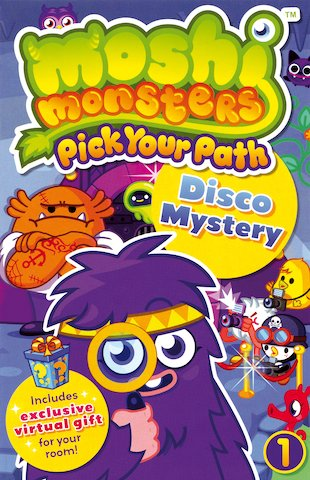 Moshi Monsters: Pick Your Path: Disco Mystery