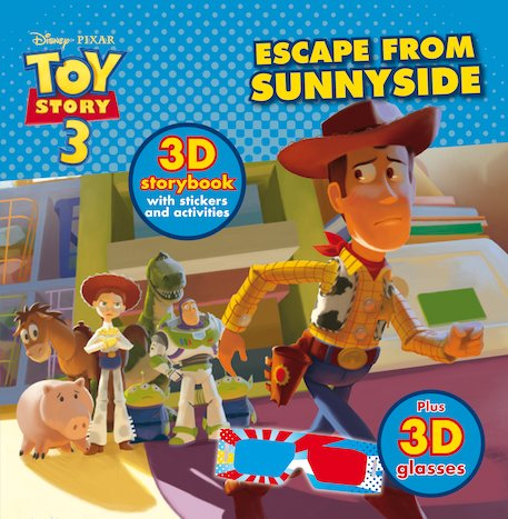 Toy Story 3: Escape From Sunnyside 3D Storybook