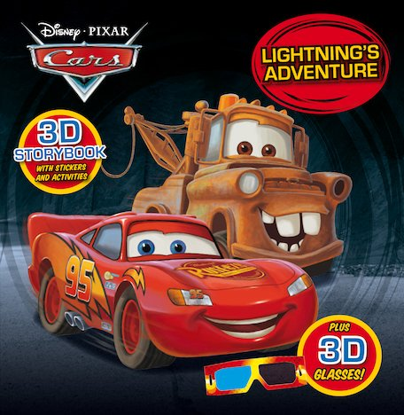 Cars: Lightning's Adventures 3D Storybook