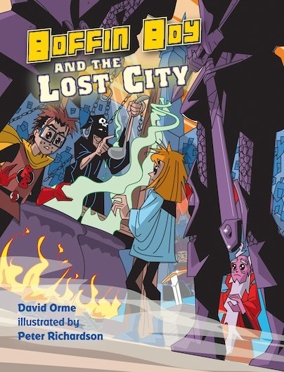Boffin Boy and the Lost City