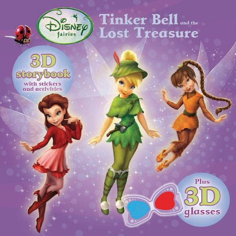 Tinker Bell and the Lost Treasure: 3D Storybook