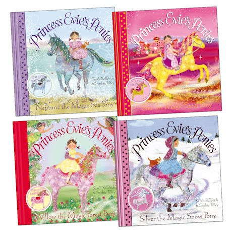 Princess Evie's Ponies Pack x 4