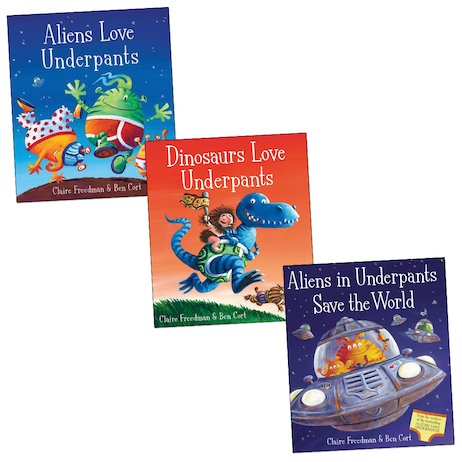 Underpants Picture Book Trio