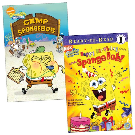 SpongeBob Readers Pack