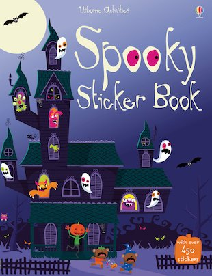 Spooky Sticker Book
