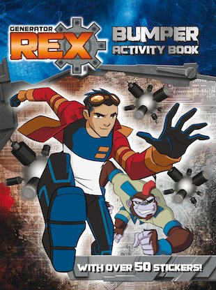 Generator Rex: Bumper Activity Book
