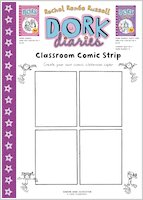Dork Diaries Comic Strip