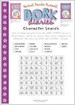 Dork Diaries Wordsearch