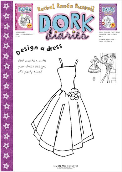 Dork Diaries Design a Dress
