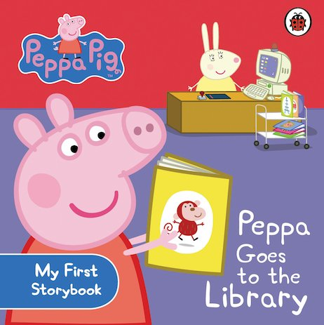 Peppa Pig: Peppa Goes to the Library