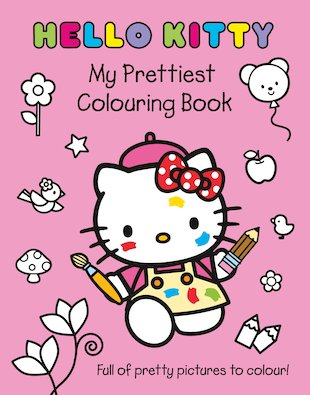 Hello Kitty: My Prettiest Colouring Book