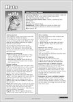Hats - Teachers' Notes (1 page)