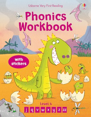 Usborne Very First Reading: Phonics Workbook (Level 4)