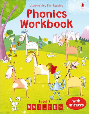 Usborne Very First Reading: Phonics Workbook (Level 3)