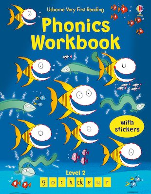 Usborne Very First Reading: Phonics Workbook (Level 2)