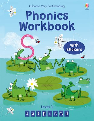 Usborne Very First Reading: Phonics Workbook (Level 1)